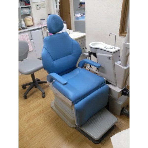 画像1: ヨシダ製 歯科ユニット肘置き有 張替