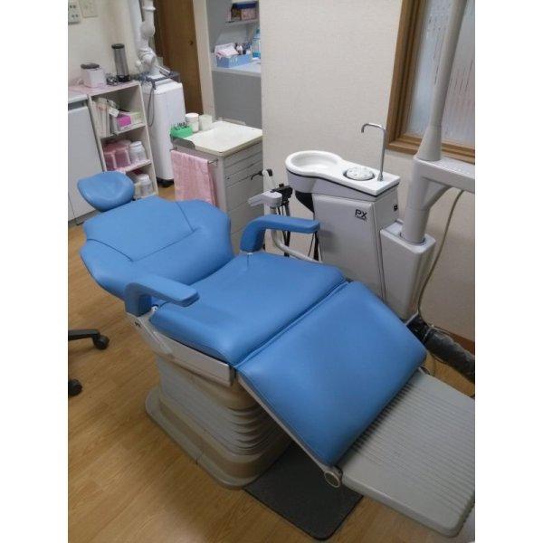 画像2: ヨシダ製 歯科ユニット肘置き有 張替