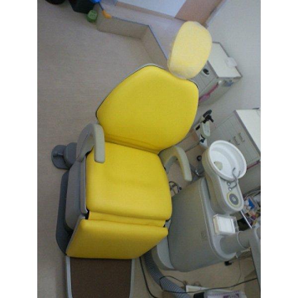 画像1: オサダ製 スマイリーノーベル 歯科ユニット 張替
