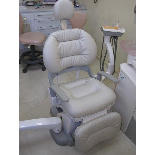 画像1: ヨシダ製 エクシードef 歯科ユニット ふわもこ張替