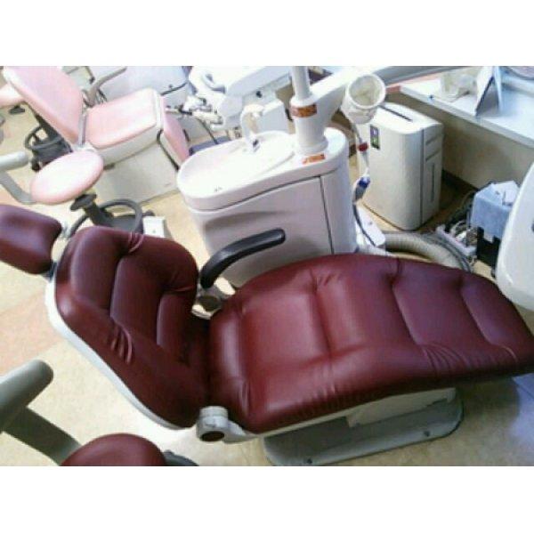 画像1: ヨシダ製  歯科ユニット ノバA1 ふわもこ張替