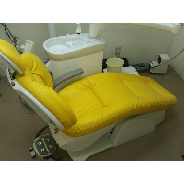 画像2: ヨシダ製 デジフォーム 歯科ユニット ふわもこ張替