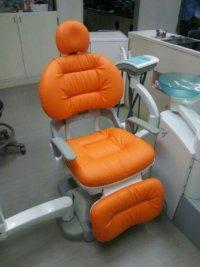 ヨシダ製 エクシードef 歯科ユニット ふわもこ張替(L-1443)