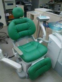 ヨシダ製 エクシードef 歯科ユニット ふわもこ張替(L-1487)