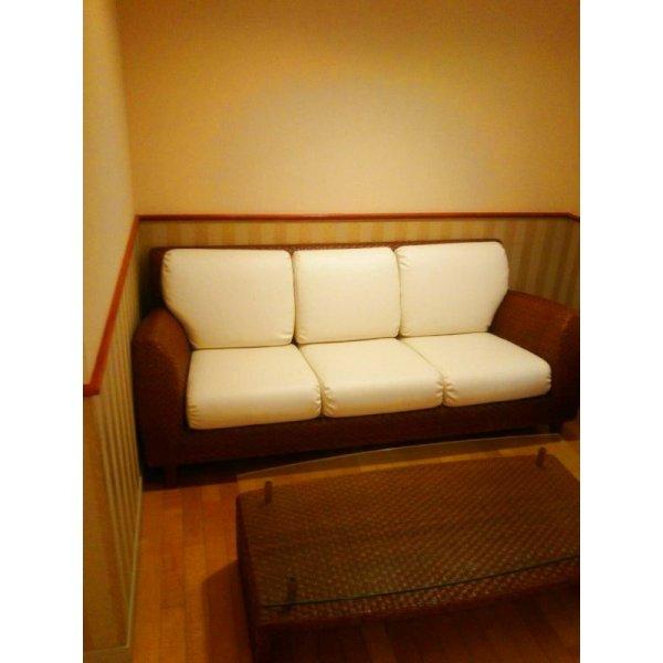 画像3: 待合椅子 張替え