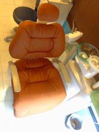 タカラ製 歯科ユニット(ロールアップ部有り) ふわもこ張替(L-1358)