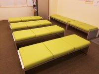待合椅子 クッション張替(L-1480)
