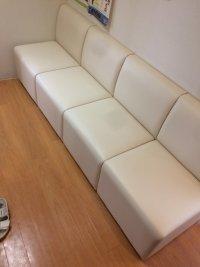 待合椅子 1人掛け椅子 張替(L-2783)