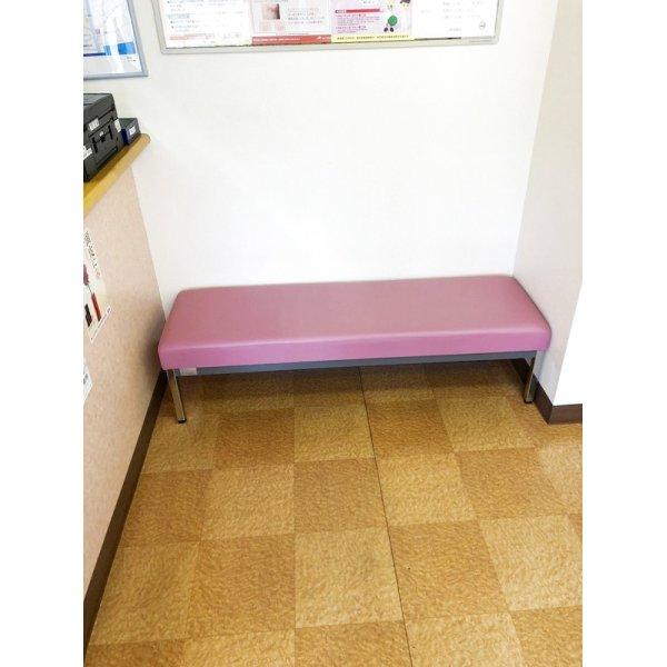 画像1: 待合椅子 張替(L-2826)