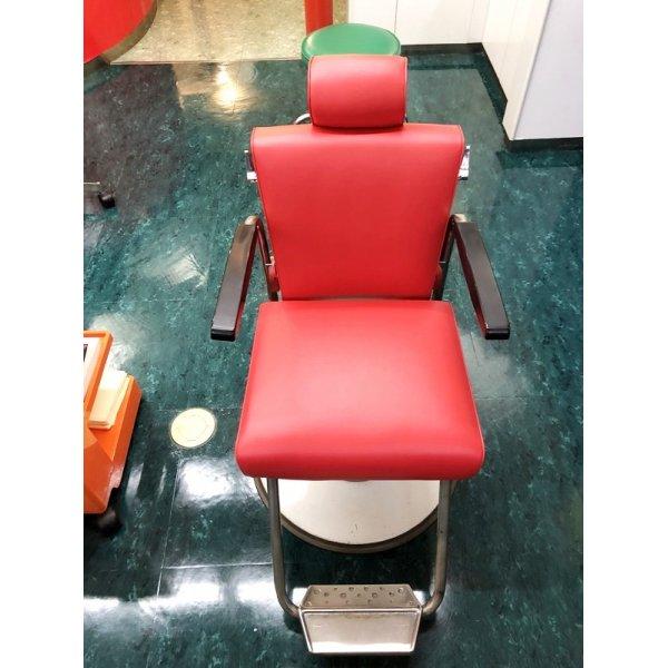 画像1: 診察台椅子(枕付き)張替 (L-2815)